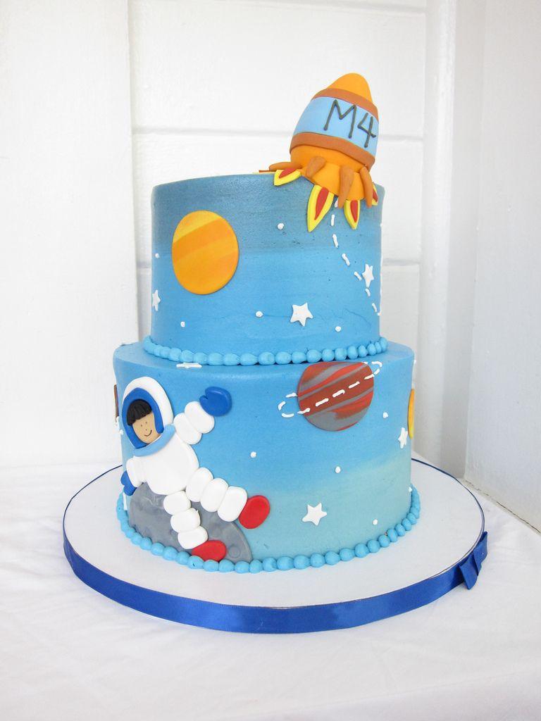 Space Birthday Cake Party Ideas Pinterest Birthday Cakes Cake