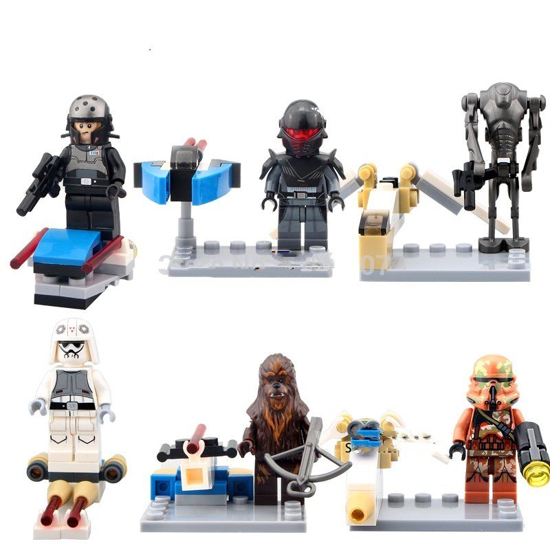 Star Wars Stormtrooper Wookiee Minifigure Lego Compatible Toy Vanytoy Com Lego Minifigures Toys Star Wars Set Lego Star Wars Sets Lego Star Wars