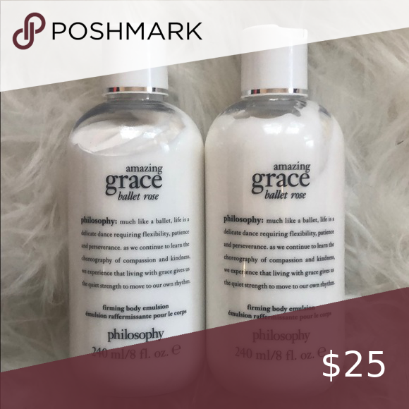 Philosophy Rose Lotion This Classy Rose Scent Is From The Philosophy Amazing Grace Line Bottles Are Rose Lotion Rose Scented Products Philosophy Amazing Grace
