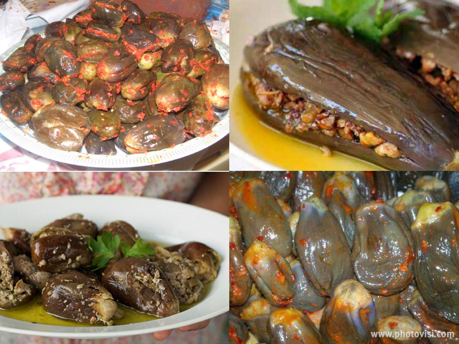 عالم الطبخ والجمال مكدوس Syrian Food Middle Eastern Recipes Vegetarian Recipes