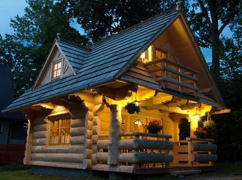 Exceptionnel Tiny House Plans From The Little Log House Company Are Bound To Enchant The  Child Inside