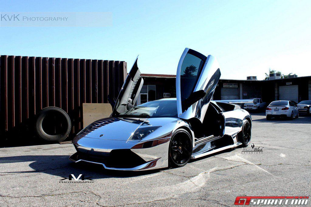 Lamborghini Murcielago LP640 Wrapped in Chrome by DBX