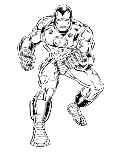 Iron Man Coloring Pages Superhero Coloring Pages Superhero Coloring Coloring Books