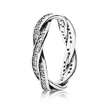 Pandora Twist of Fate Ring - Item 190892CZ