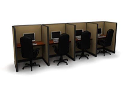 4 Call Center Cubicles New Life Office Cubicle Call Center