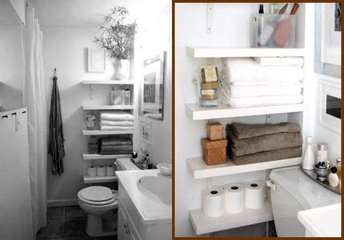 Resultado de imagen de muebles de ba o como estantes Repisas pequenas para bano