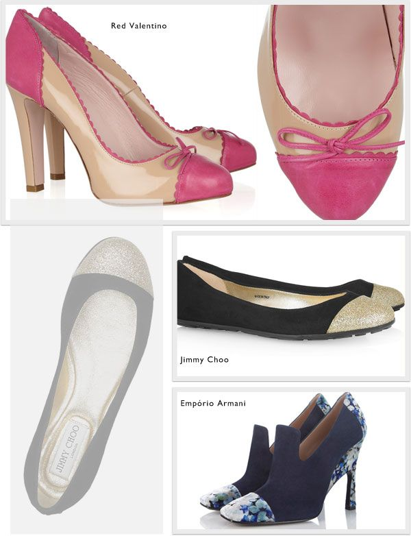 Cap toes: a versão moderna do sapato bicolor