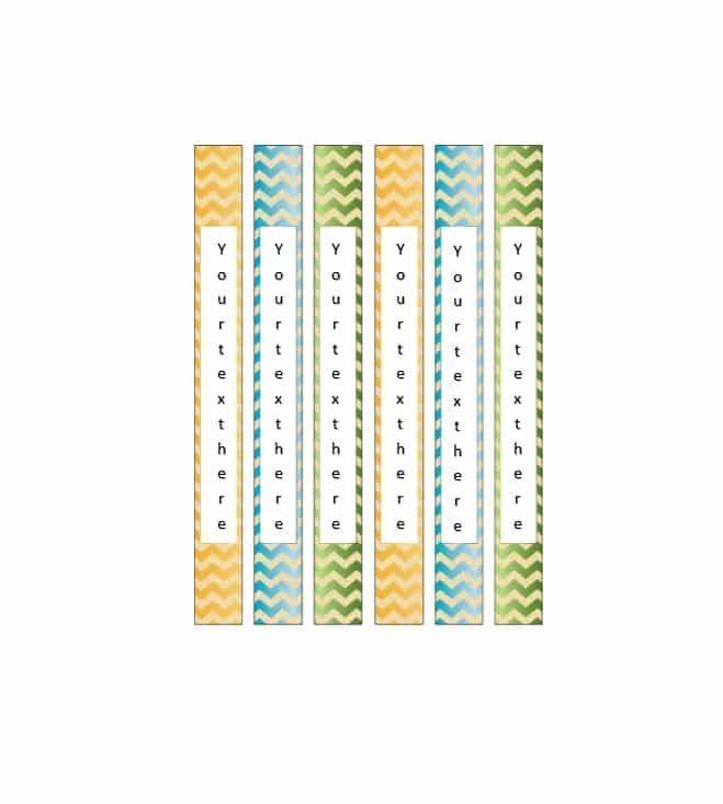 Binder Spine Label Template Inspirational 40 Binder Spine