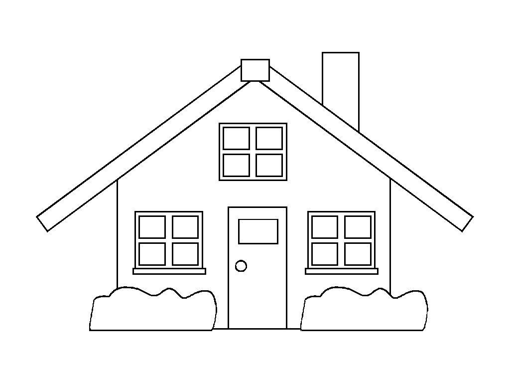 häuser ausmalbilder malvorlagen zeichnung druckbare nº 12