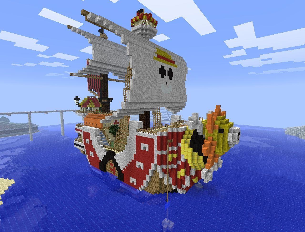 Thousand Sunny Minecraft Project Minecraft Projects Minecraft Minecraft Blueprints
