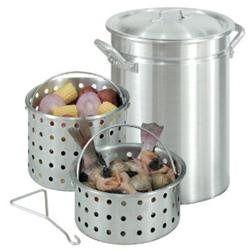 42 Qt Great Lakes Boiler W 2 Baskets Turkey Fryer