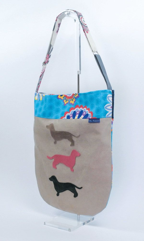 Summer Sale // Dachshund bag named Rap // Shopper // Accessories // Cross body Bags // Handbag // Doxie // Hobo Bag // Teckel // Mr. Podenco : hobo doors - pezcame.com
