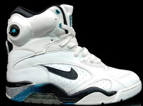 online retailer 58265 81df6 Nike Air Command Force - high top, air bubble, pump in the tongue, featured  in White Men Can t Jump