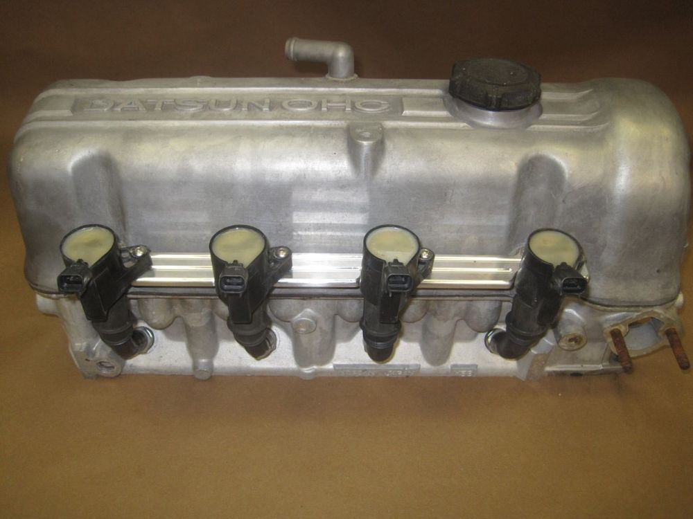 Image result for Nissan L18 draw through turbo   Datsun 720