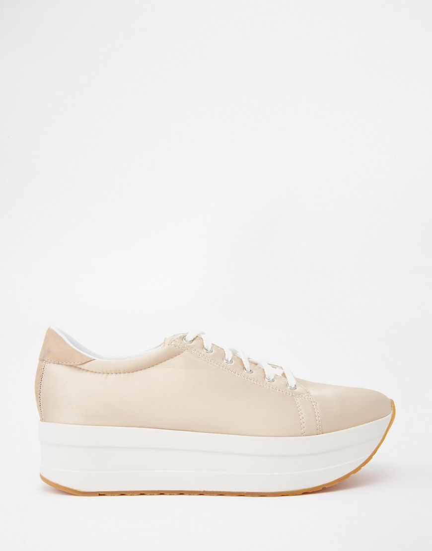huge discount 33181 90951 Vagabond – Casey Champagne – Sneaker mit Doppelsohle ...