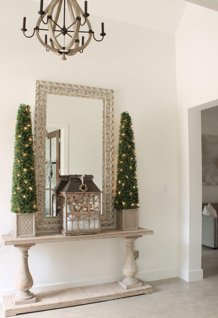 Christmas Entry Decor holiday home decorations inspiration ideas ...