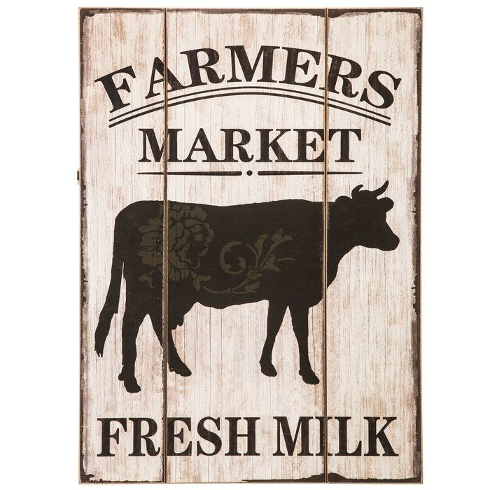 Farmers Market Wood Wall Decor With Cow Hobby Lobby Wood Wall Decor Wood Wall Wall Decor