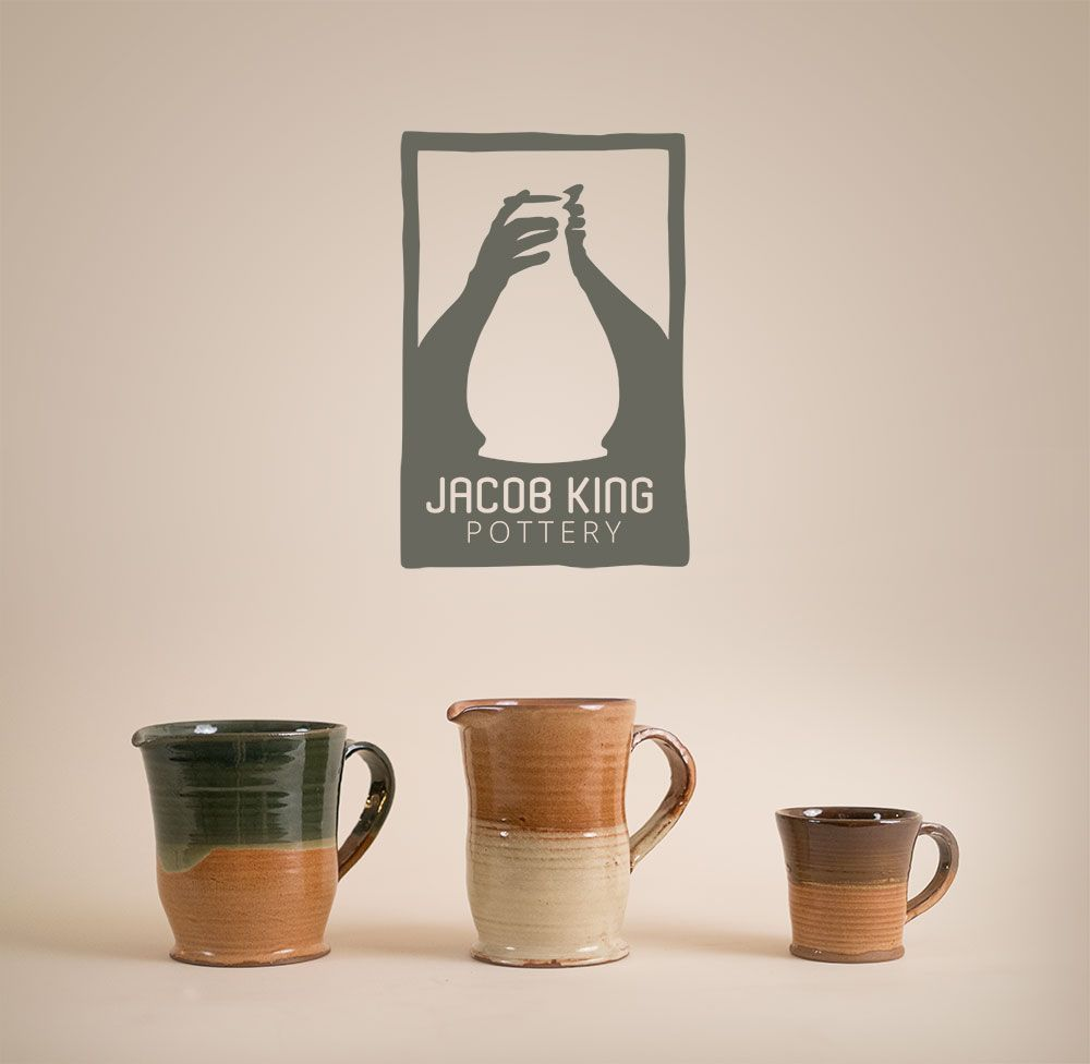 Jacob King Pottery Logo Awesome Stuff By Merle Fisher