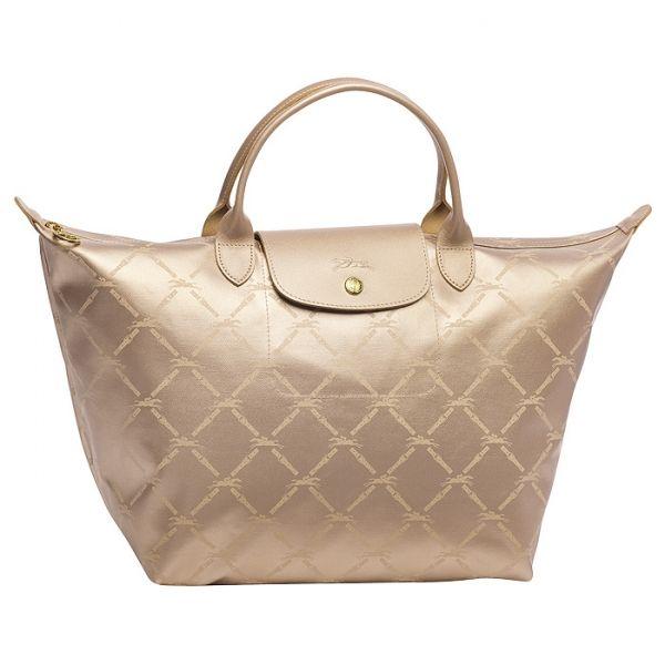 35ef6b2f4678d Longchamp Lm Metal Planetes Pink Gold. £25.75