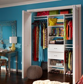 Organize Your Closet And Get More Storage E At The Home Depot