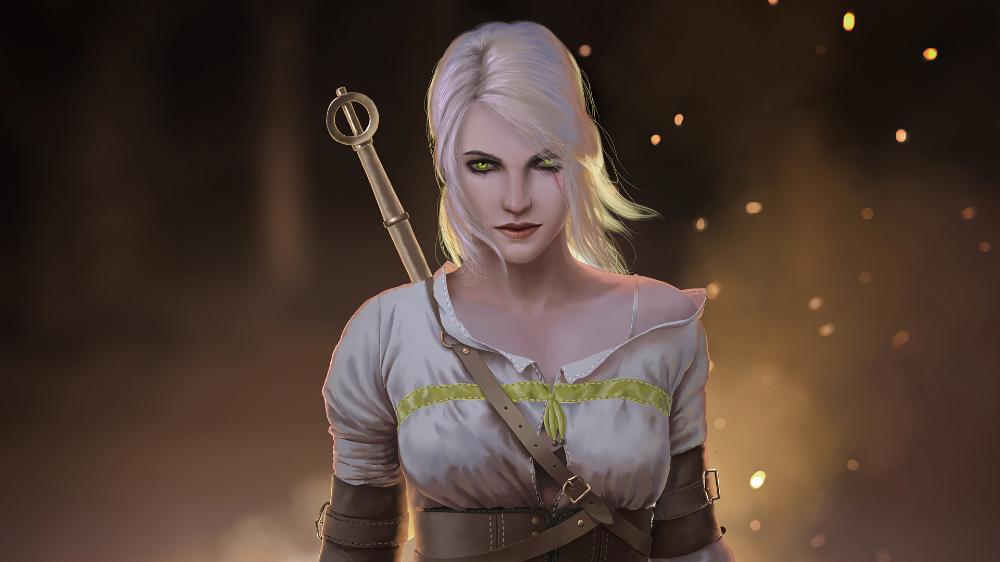 Ciri The Witcher 3 Wild Hunt 4k In 3840x2160 Resolution In 2020 The Witcher The Witcher 3 Witcher 3 Wild Hunt