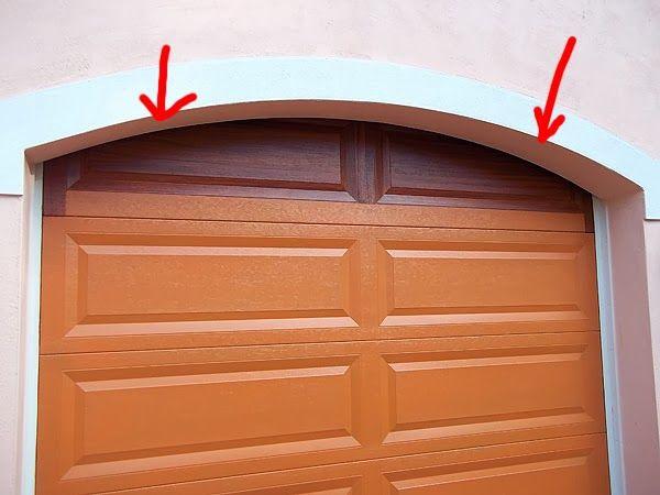 Painted Garage Doors Paint Top Panel Of Garage Door To Look Like