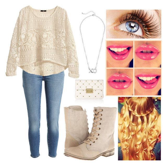 """""""xo"""" by rina1d ❤ liked on Polyvore featuring Bardot, H&M, Wanted and MICHAEL Michael Kors"""