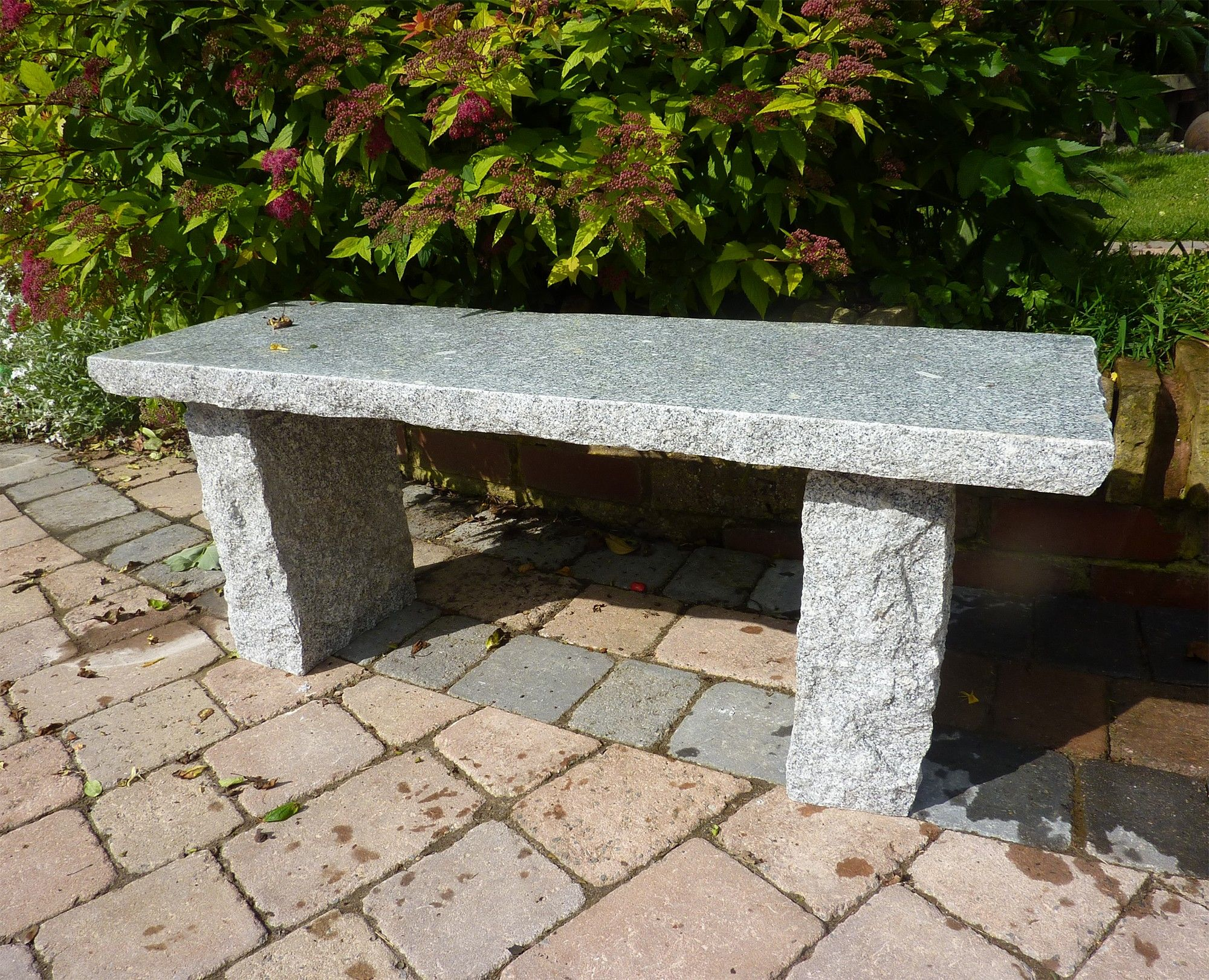 Nice Large Garden Benches   Classic Natural Granite Grey Stone Bench. Buy Now At  Http: