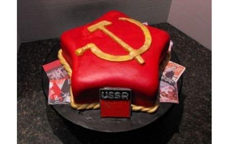 Cake Soviet Cccp Communism Svetlanas