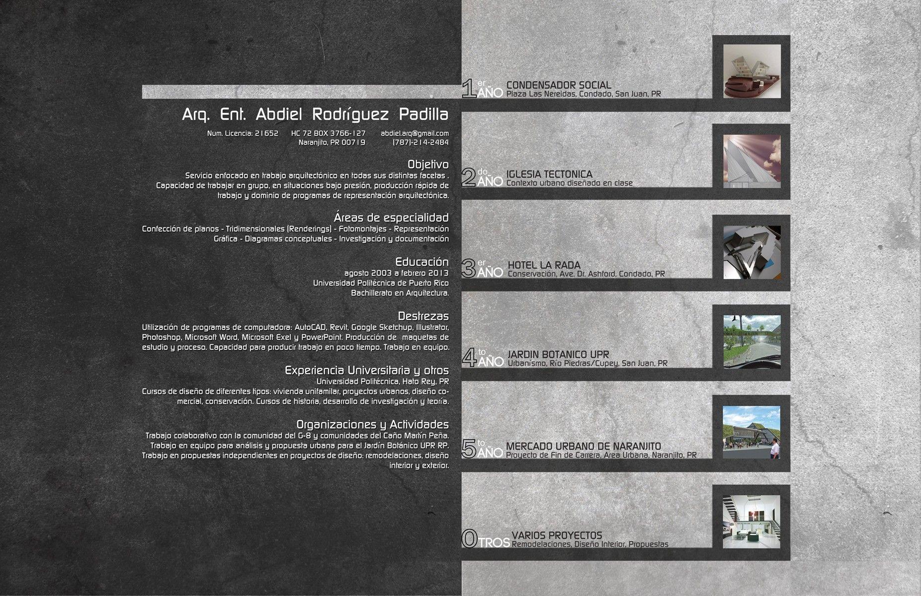 Portadas de portafolios de arquitectura buscar con for Portadas de arquitectura