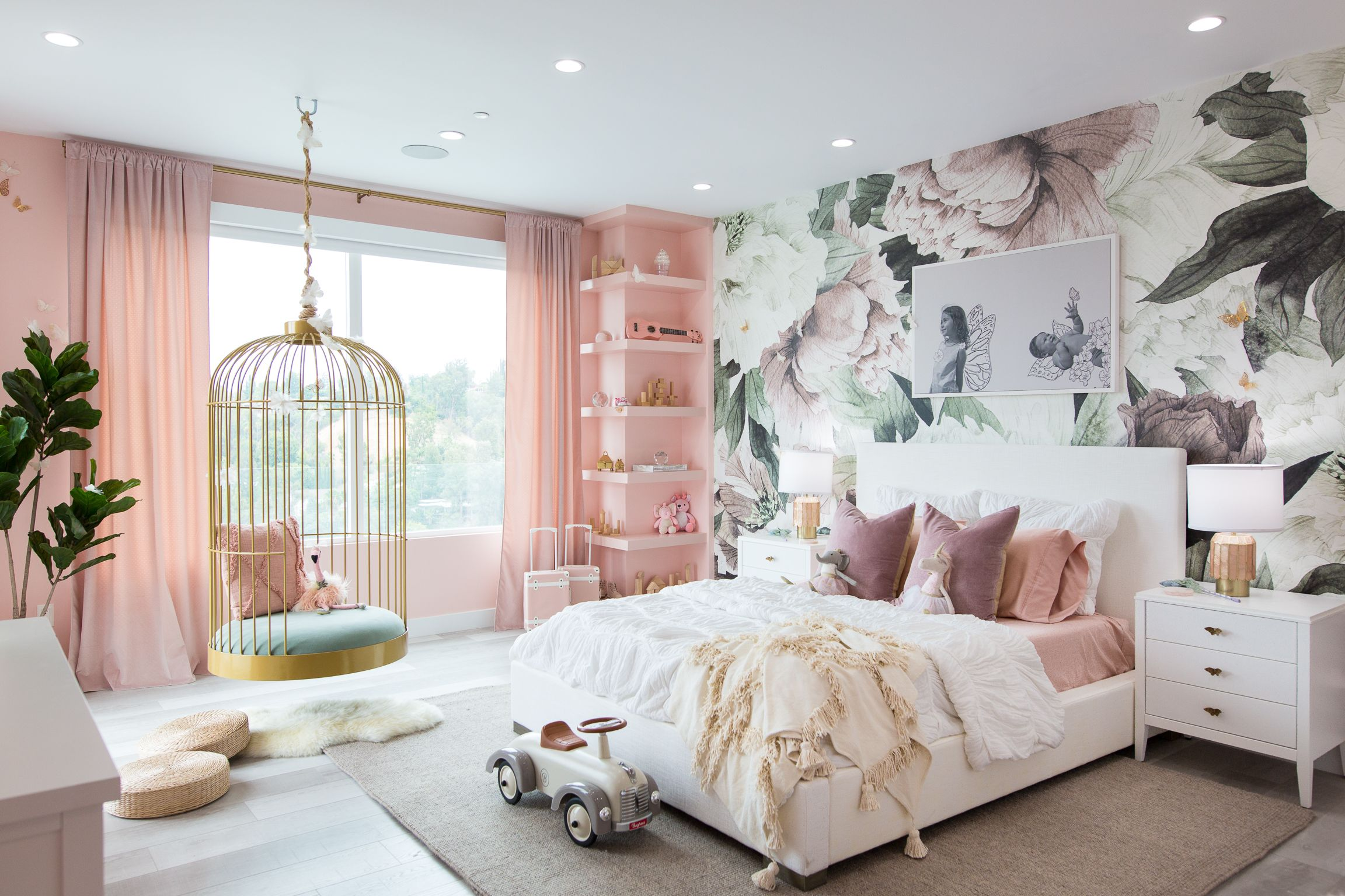 Dream Butterfly Bedroom  amp  Rainbow Playroom for Elle and Alaia