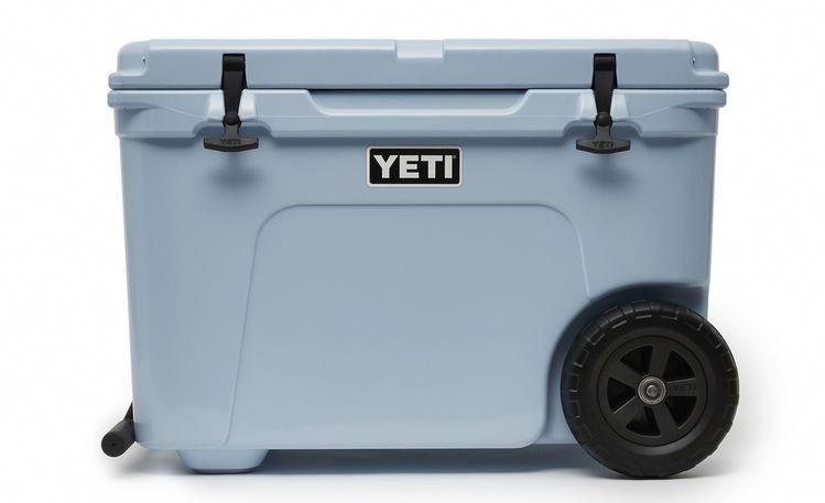 Ice Blue Haul Wheeled Cooler Yeti Cooler Cooler Reviews Yeti Tundra