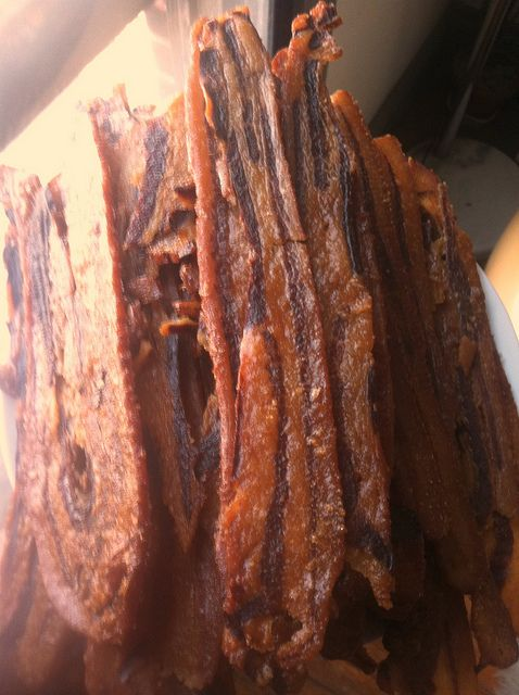 Candied Bacon Jerky Recipe  by Well Preserved, via Flickr