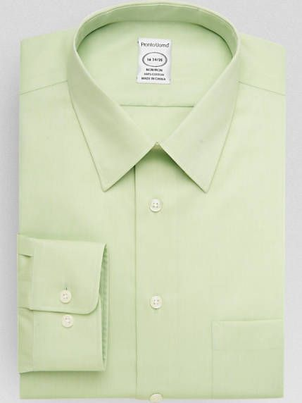 2c0cea25cdf Check this out! Pronto Uomo Apple Green Queen's Oxford Modern Fit ...