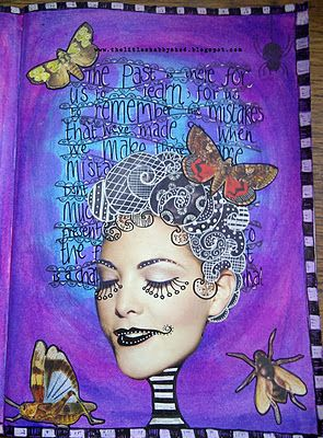 Aren't these colours amazing? #artjournal