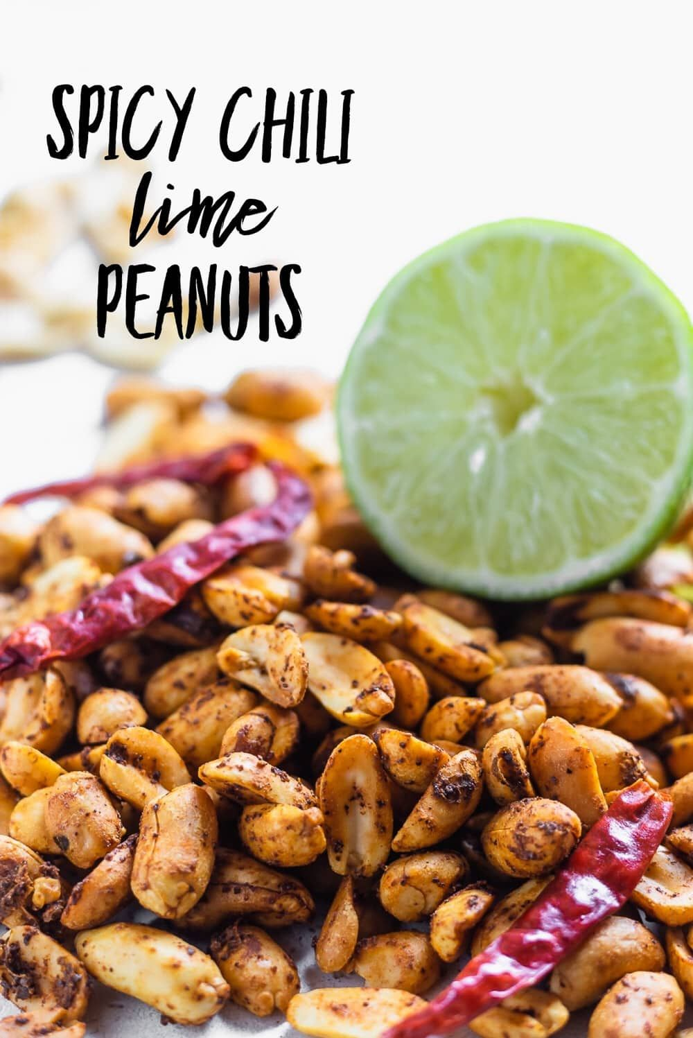 These Spicy Chili Lime Peanuts Are Sure To Be A Hit At Your Next