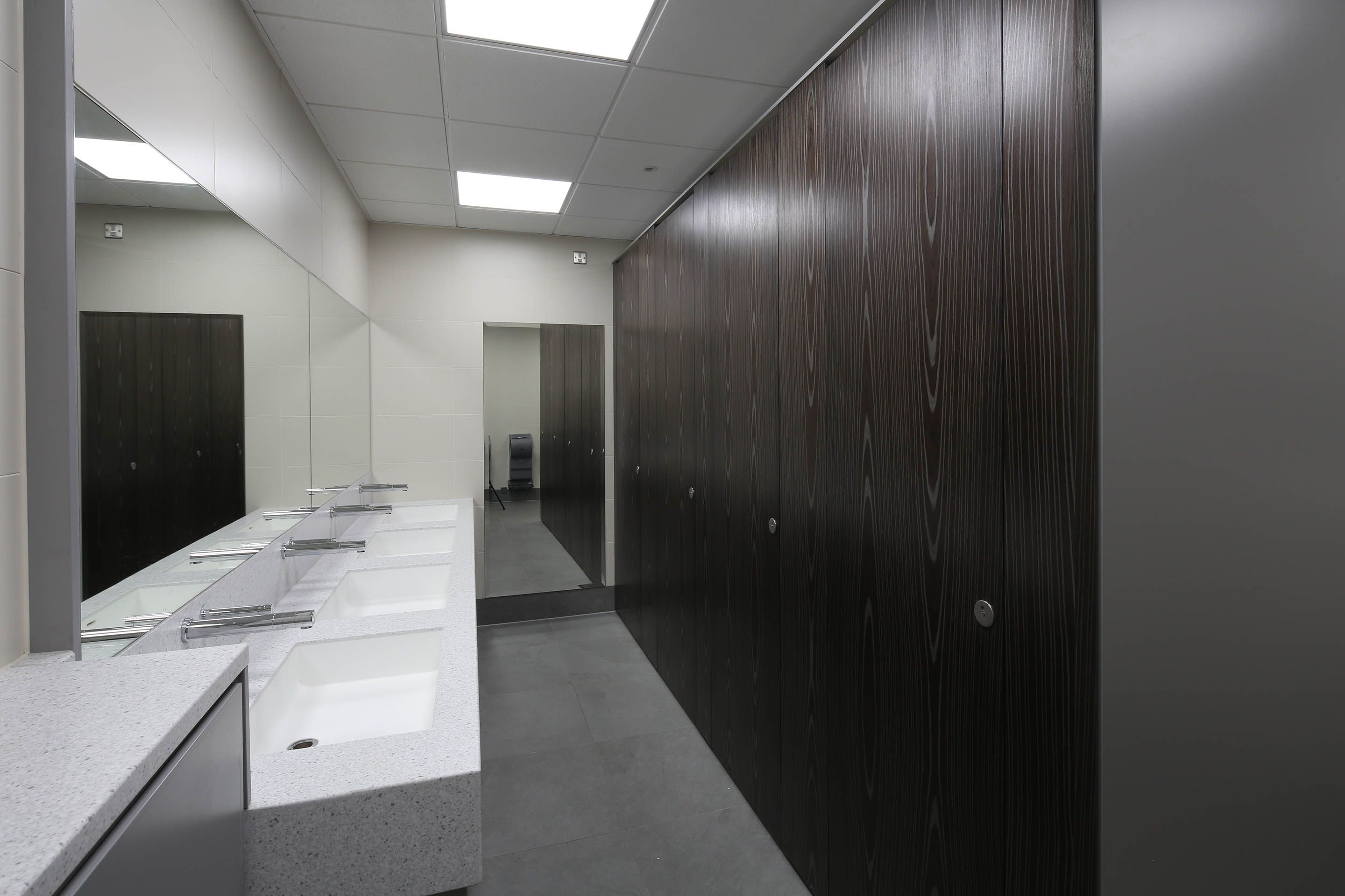 Partitions And Flooring That Will Go Into Mens Room -