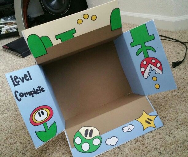 Level complete  Super Mario Bros care package  Military  | Care