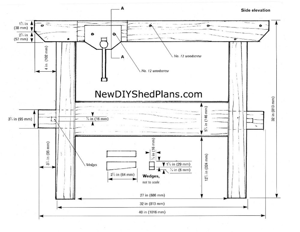 Diy Free Woodworking Bench Table Plans Plans Free Woodworking