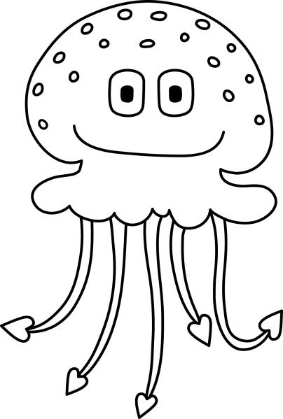 Jellyfish Ubur Ubur