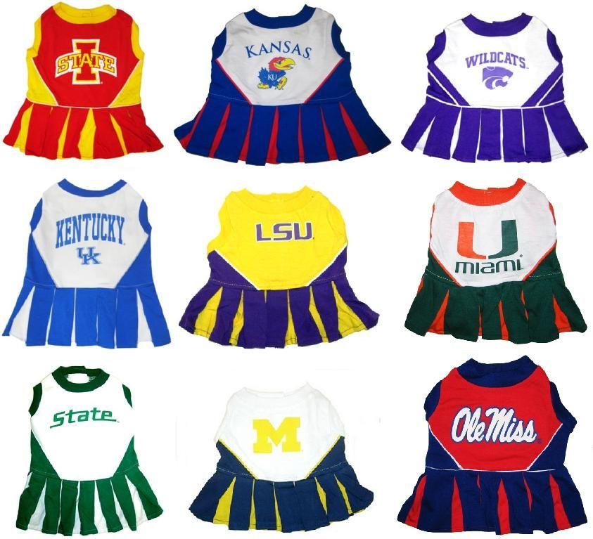 NCAA Kentucky Wildcats Cheerleader Dog Dress