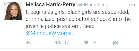 3 of 17) It begins as girls  Black girls are suspended