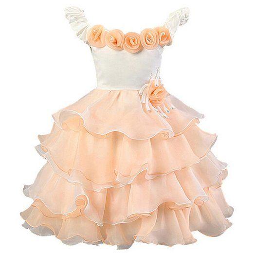 oferta compra especial nuevo estilo Waboats Vestido Fiesta de Princesa para Niña Boda Disfraz ...