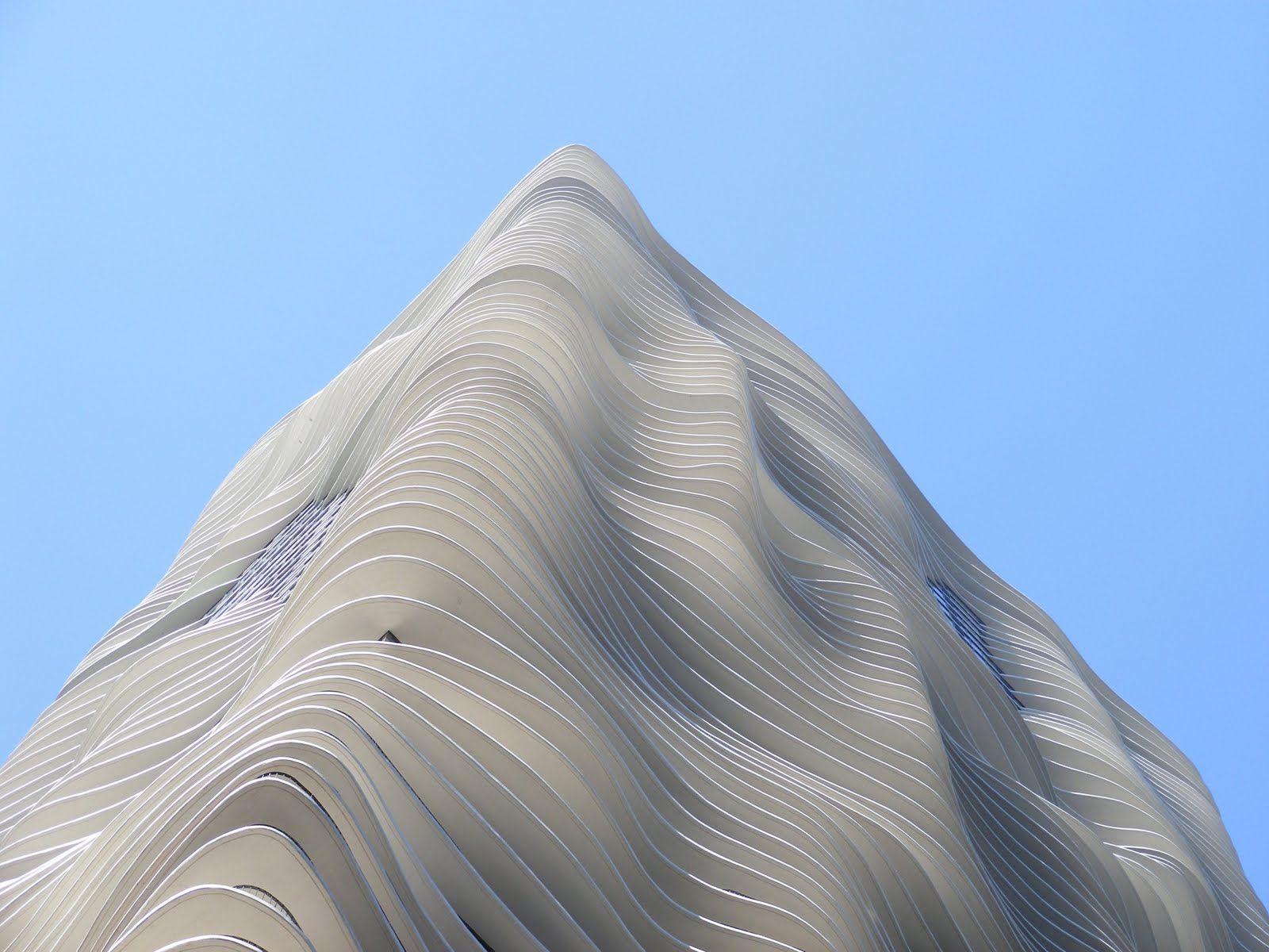 aqua tower: new architectural icon in chicago's skyline | aqua