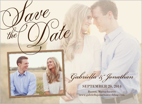 Overlay Save The Dates