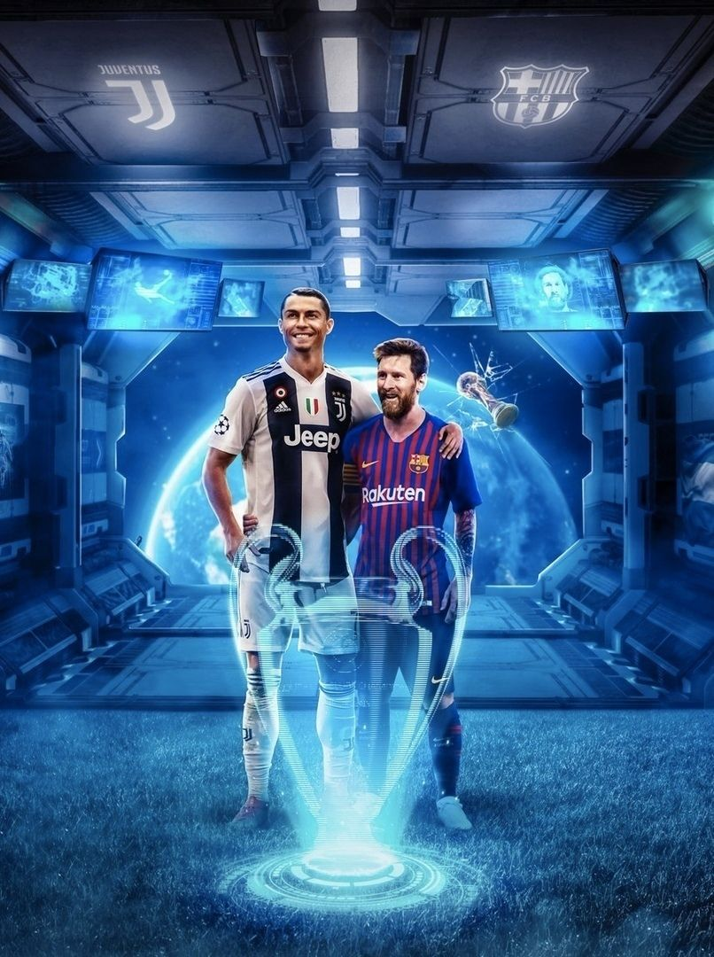 Everyone Is Waiting For Just Such A Final Ronaldo Messi Juventus Barcelona Uefa Messi And Ronaldo Ronaldo Football Messi Vs Ronaldo