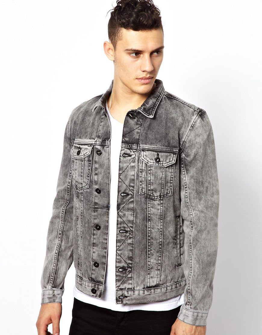 3f416868880 Pin by Lookastic on Denim Jackets
