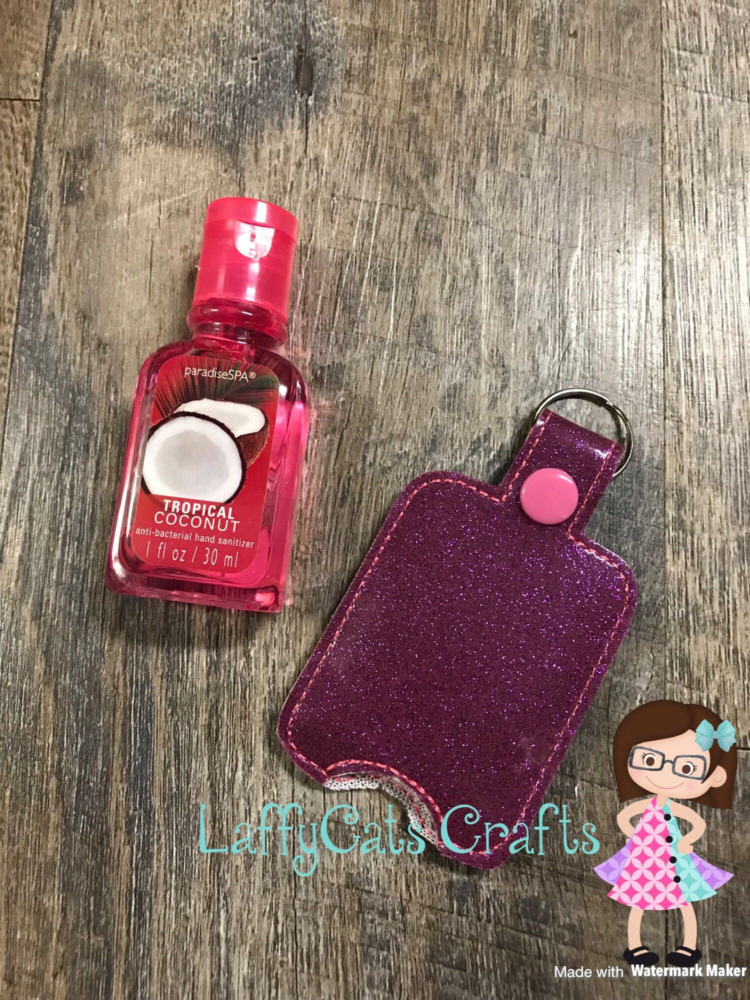 Handmade Hand Sanitizer Holder Hand Sanitizer Case Hand