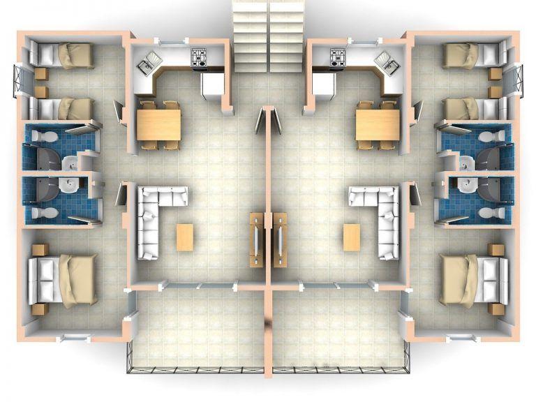 elegant 2 bedroom apartments 2 bedroom flat plan drawing ...