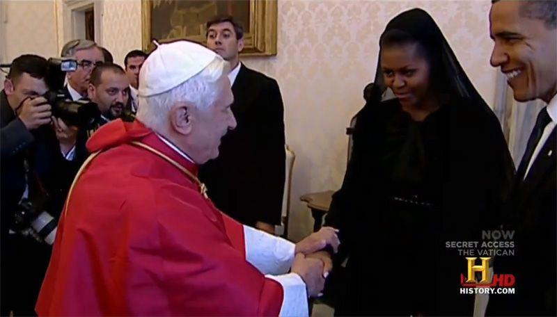 Freemason Handshake Obama